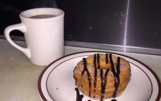 Homemade Donut and Coffee